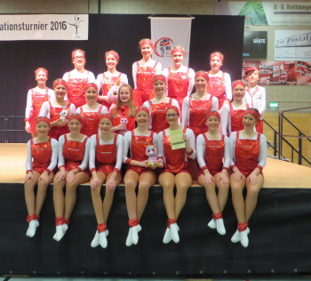 Junioren Schautanz - Stadtgarde RHEINE